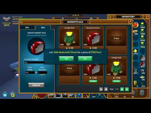 Making Flux in Trove - Bulk Trades and Decimal Pricing