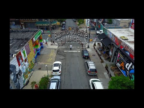 (explicit version) Bushwick Collective 2017 Graffiti Artist DJI Mavic Pro