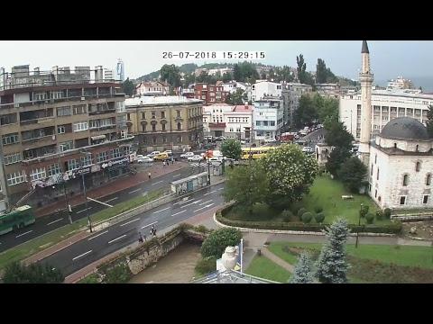 Općina Centar Sarajevo - Alipašina ulica ◘ Live Stream
