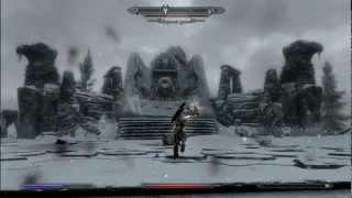 TES 5: Skyrim - Топор палача vs Дракон