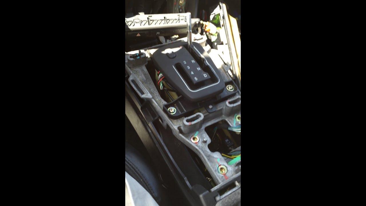 2003 Jaguar SType Good repair for gearshift stuck in