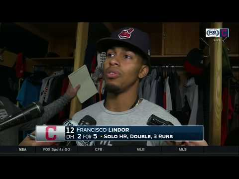 A day at DH may have been just what Indians' Francisco Lindor needed