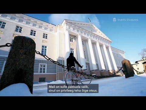 Tartu Ülikool – Võime muuta maailma