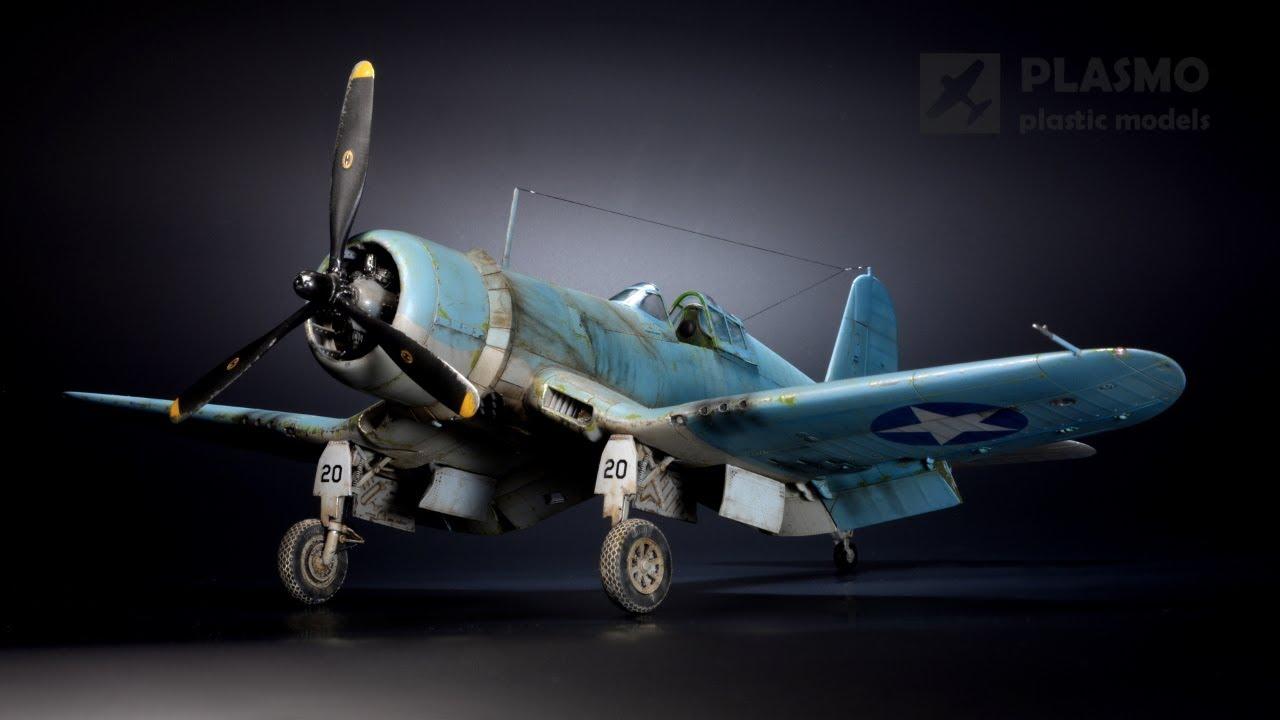 F4U-1A Corsair Tamiya1/48 - VMF-213 - Aircraft Model
