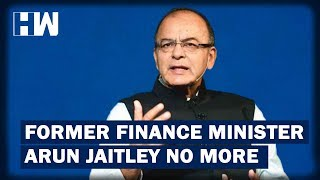 Breaking News: Former Finance Minister Arun Jaitley passes away