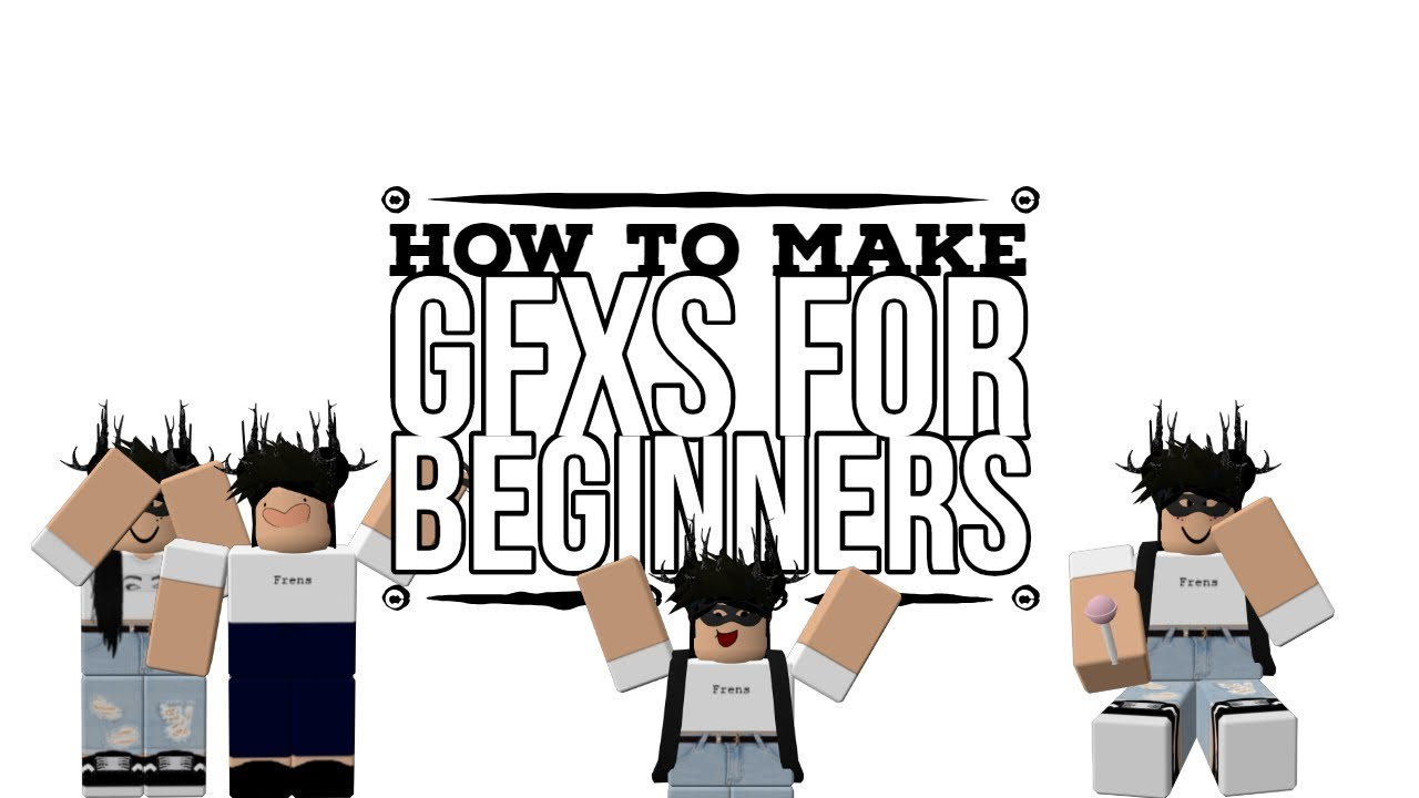 How To Make A Gfx For Beginners Easy Youtube