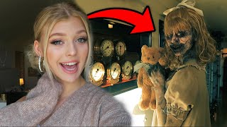 WORLDS SCARIEST LITTLE GIRL : Professional SFX Artist does my Makeup  | Loren Gray