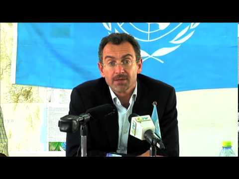 Humanitarian Coordinator Toby Lanzer on deteriorating situation in South Sudan