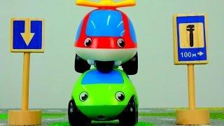 Мультики про машинки: Дорожные знаки для детей. Одностороннее движение. Ремонт автомобилей.(Развивающие мультики для детей - Учим дорожные знаки! Продолжаем учить знаки дорожного вместе с малышом..., 2015-04-19T15:02:38.000Z)