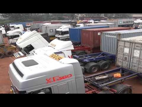 Transporting good across Sub-Saharan Africa