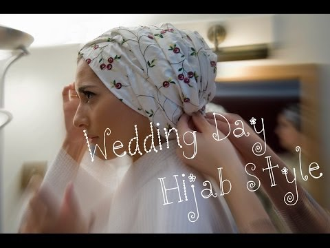 MY BRIDAL HIJAB TUTORIAL!