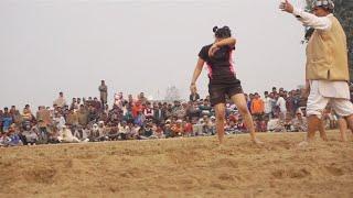 महिला पहलवान कुश्ती दंगल प्रतियोगिता चुहड़पुर हरियाणा