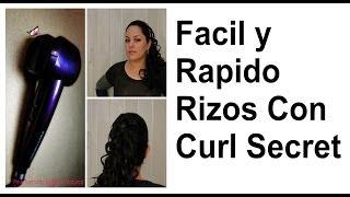 Facil y rapido rizos con Curl secret (REVIEW #CONAIRCURL) Thumbnail