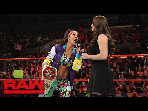 Bayley addresses Charlotte Flair's demands: Raw, Feb. 20, 2017