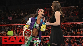 Bayley addresses Charlotte Flair