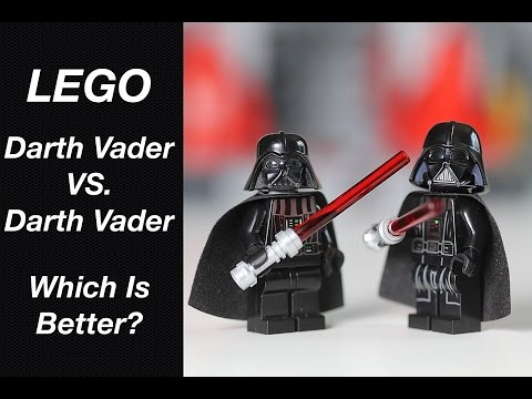 New LEGO Darth Vader Review - Better Than The Old Darth Vader?