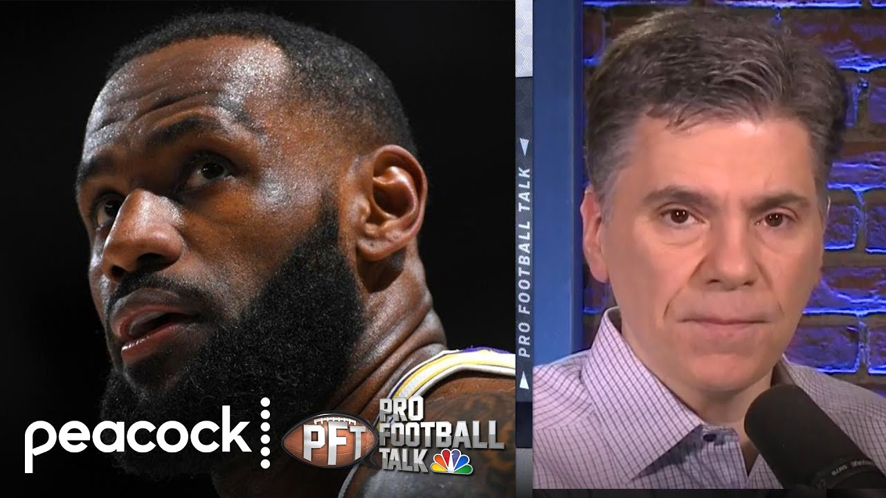 Why LeBron James would have been great NFL player   Pro Football Talk   NBC Sports