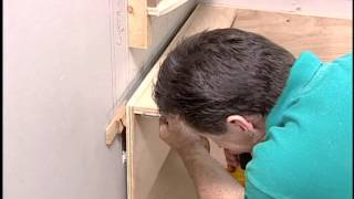 Learn how to install a window seat in your home in this step by step video.
