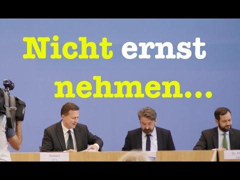 22. September 2017 - Komplette Bundespressekonferenz