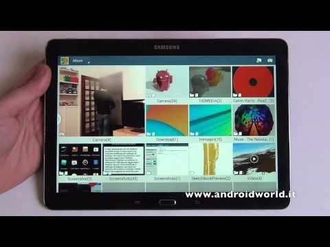 Samsung Galaxy Note 10.1 2014 Edition, recensione in italiano by AndroidWorld.it