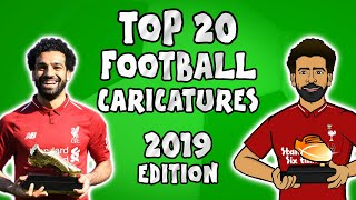 ✍️Top 20 Football Caricatures: 2019✍️ (442oons football cartooons)