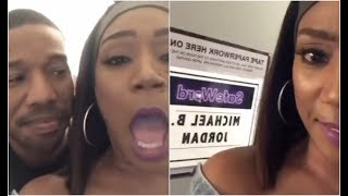 Tiffany Haddish Is Thirsty For Michael B Jordan After Seeing Black Panther
