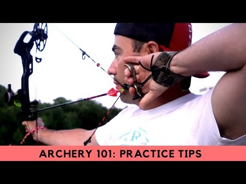 Archery and Bow Hunting 101: 3 GREAT Practice Tips