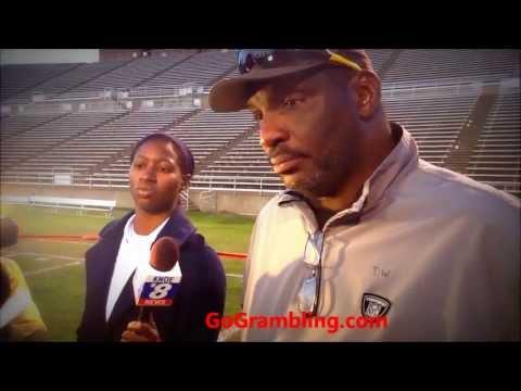 Grambling State University Black & Gold Spring Football Game Report 2013