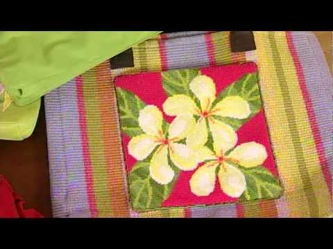 Needle Art Purses, from Knitting Daily TV Episode 809, Sponsored by TNNA