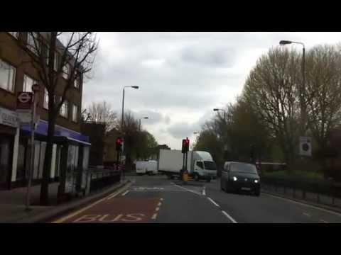 London streets  (19.) - Battersea bridge Road (SW11) - Colliers wood (SW19)
