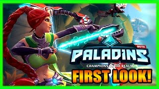 Quick Start Beginners Guide to Paladins! First Look Gameplay 2017 - Free to Play Tips + Tricks