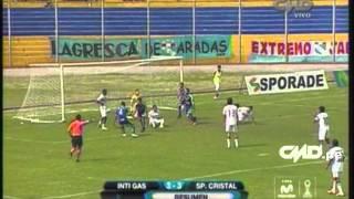 Resumen: Inti Gas 3-3 Sporting Cristal (Copa Movistar Torneo Clausura)