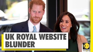 UK Royal website redirected to a porn site | Prince Harry | WION News | World News