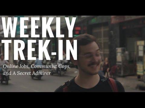 Weekly trek-in #7 - Online English Teaching Jobs Ho Chi Minh || Vlog