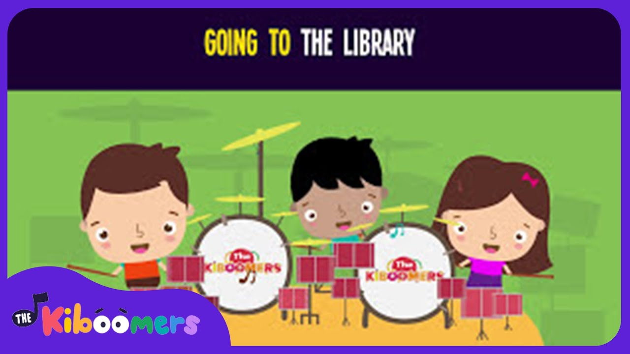 Going To The Library Song For Kids
