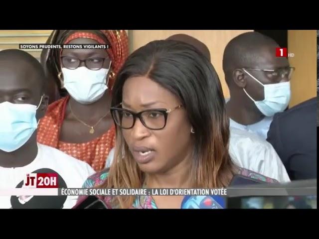 Le Sénégal vote la loi d'orientation de l'Economie Sociale et solidaire !
