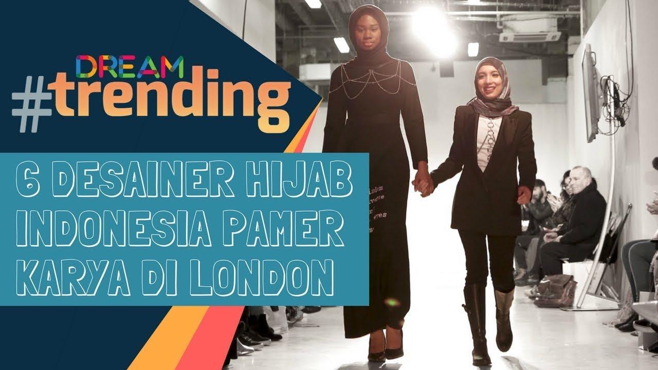 10 Desainer Hijab Indonesia Pamer Karya di London