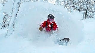 BEST SNOW I'V EVER RIDDEN! (Japan, Hokkaido)