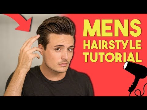 My Updated Hairstyle Tutorial (Full Process) | Mens High Volume Modern Hair thumbnail