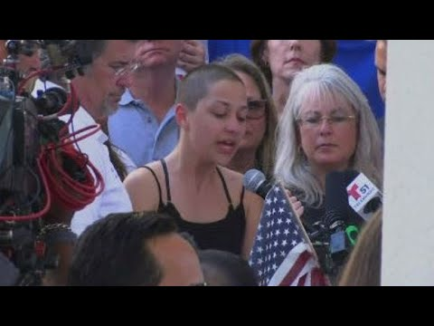 Passionate Speech By Marjory Stoneman Douglas Student Emma Gonzalez At Anti-Gun Rally