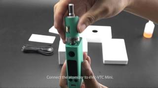Joyetech eVic VTC Mini 75W Tron Starter Kit Video