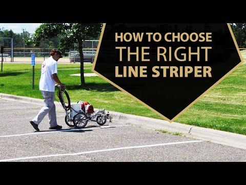 How To Choose The Right Line Striper | Line Striping Machine | Asphalt Kingdom