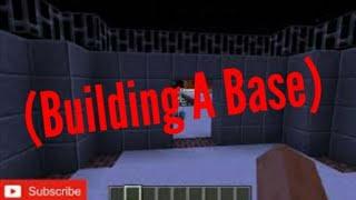 Minecraft PE Live Stream (Building A Base)