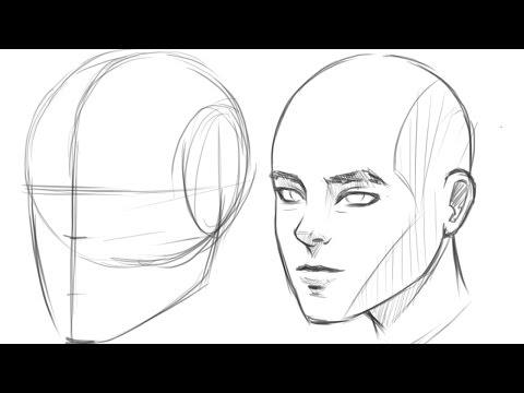how-to-draw-human-head-3/4-view