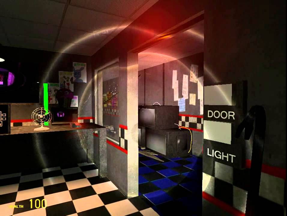Garrys Mod: FNAF 1 Map Review, and Reactions!