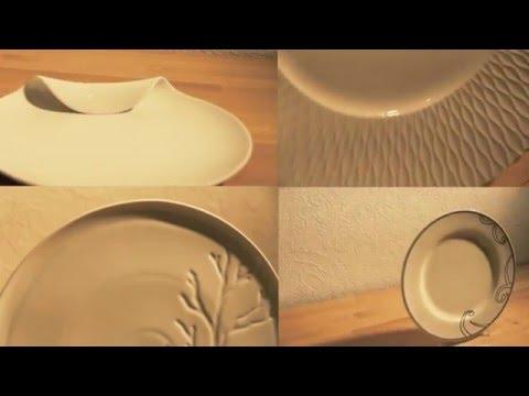 Как выбрать тарелки/Фарфор/Керамика/чем отличается фарфор от керамики