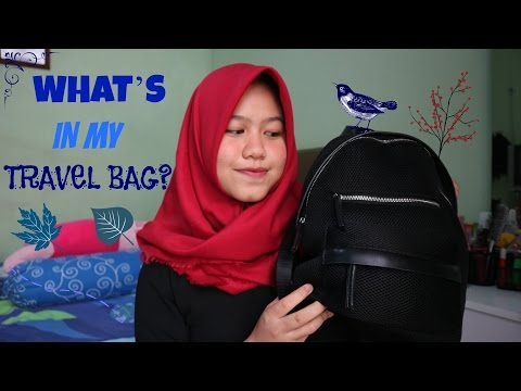 What's In My Travel Bag? (Indonesia) | FMA