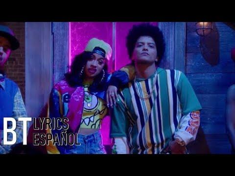 Bruno Mars - Finesse (Remix) [Feat. Cardi B] (Lyrics + Español) Video Official