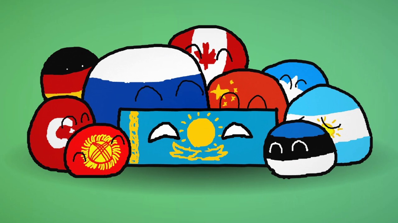 Animated Kazakhstan Flag by dragosburian | 3DOcean |Kazakhstan Animation
