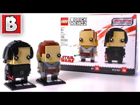 Rey & Kylo Ren 41489 BrickHeadz! Fandango Gift Card GIVEAWAY ...